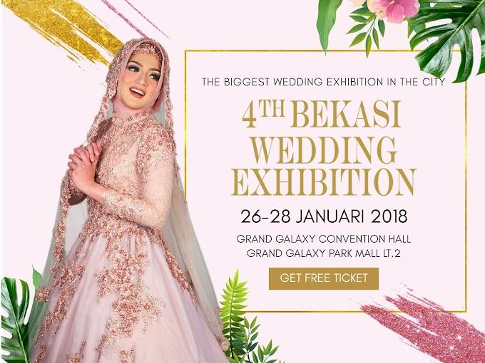 Cari Referensi Pernikahanmu di 4th Bekasi Wedding Exhibition 2018