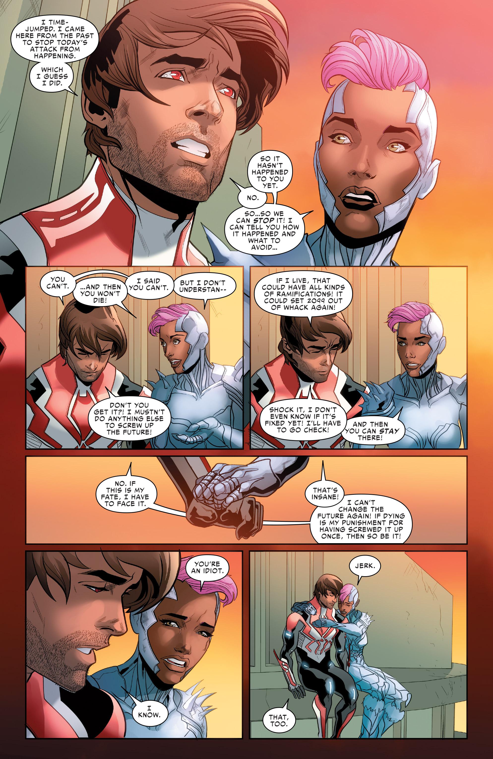 Read online Spider-Man 2099 (2015) comic -  Issue #24 - 21