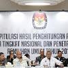 Pukul 01.46 Dini Hari, KPU Umumkan Kemenangan Jokowi Amin