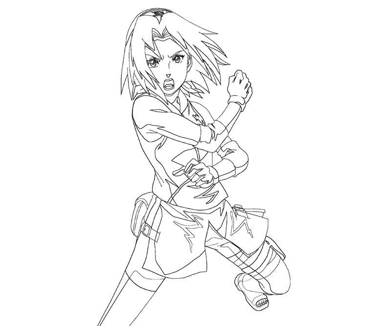 haruno coloring pages - photo#24