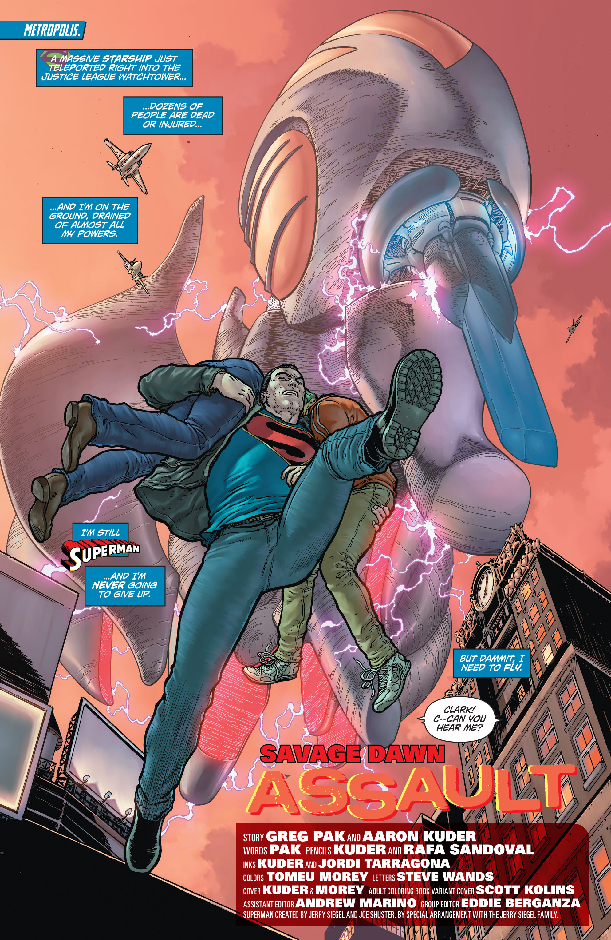 Read online Action Comics (2011) comic -  Issue #48 - 4