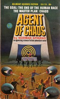 Cover image of the novel Agent of Chaos by Norman Spinrad