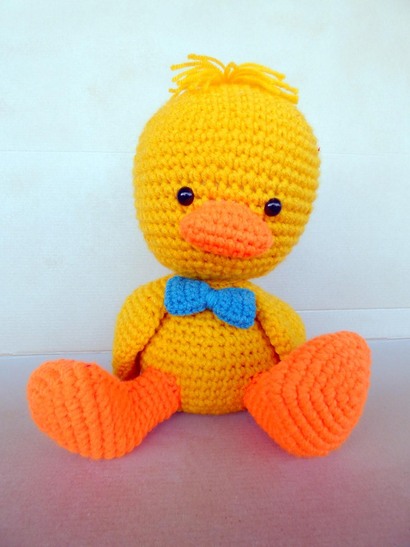 Large Crochet Duck! - AmVaBe Crochet