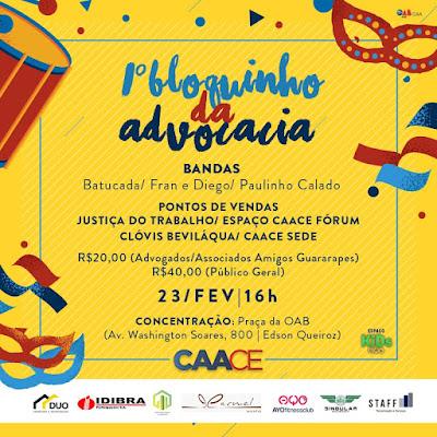 cb0d633267 Caace promove Carnaval da Advocacia