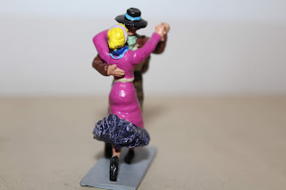 Bailarines de tango, por Osvaldo Verón