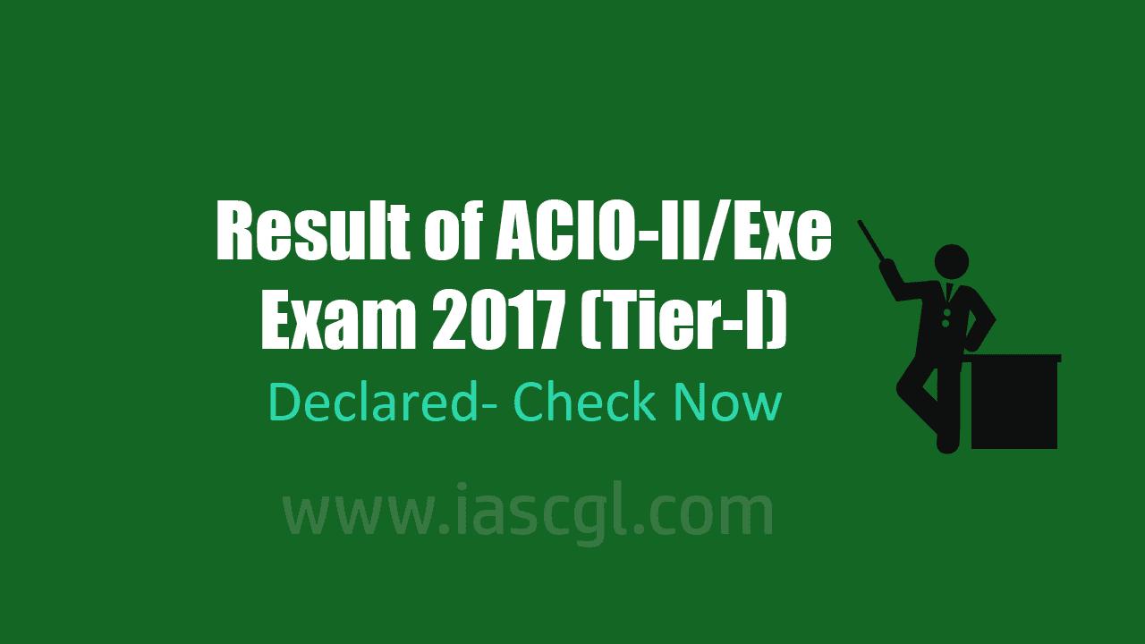 ACIO IB Result 2017