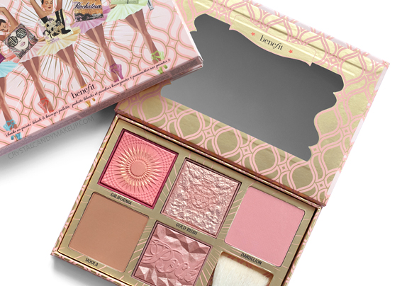 Benefit Blush Bar Cheek Palette Review Photos Swatches Gold Rush Galifornia Hoola Dandelion Rockateur