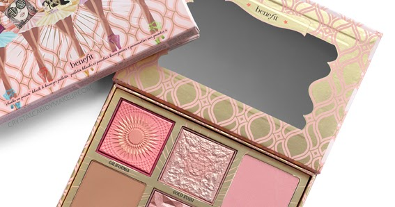 Benefit Blush Bar Cheek Palette Crystalcandy Makeup Blog