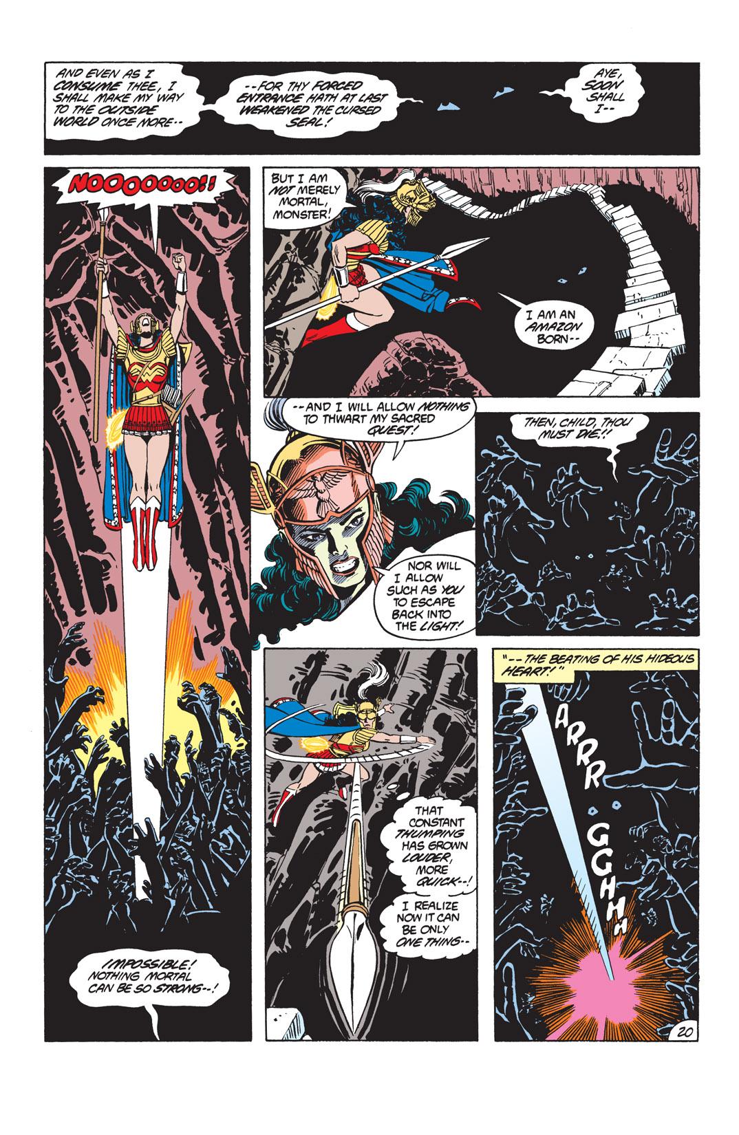 Read online Wonder Woman (1987) comic -  Issue #10 - 22