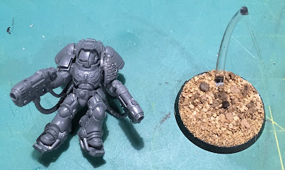 Deathwatch Primaris Inceptors WIP Custom Bases