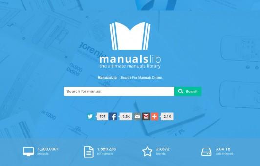 ManualsLib: Η διαδικτυακή βιβλιοθήκη με πάνω από 2 εκατομμύρια Manuals