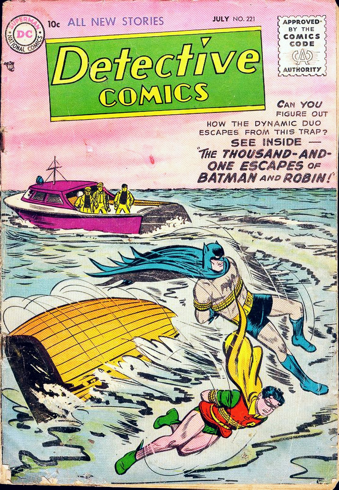 Read online Detective Comics (1937) comic -  Issue #221 - 1