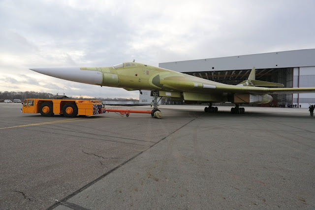 Russia Tupolev Tu-160M2 Blackjack
