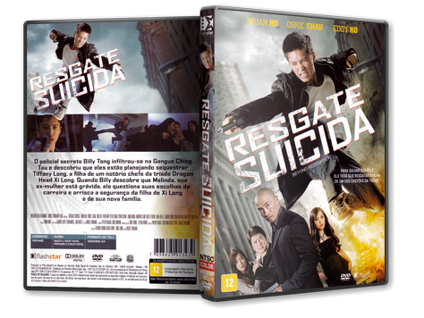 Capa DVD Resgate Suicida