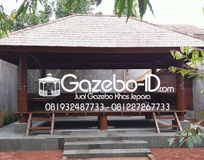 Gazebo Rumah Makan Glugu Jepara