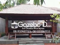 Gazebo Rumah Makan yang Sering dijumpai