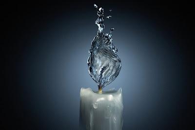 Arte retoque digital y agua.