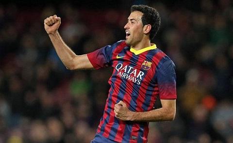 Mùa giải 2014/15 vừa qua, Busquets đã thu được khá nhiều thắng lợi về cho Barca.