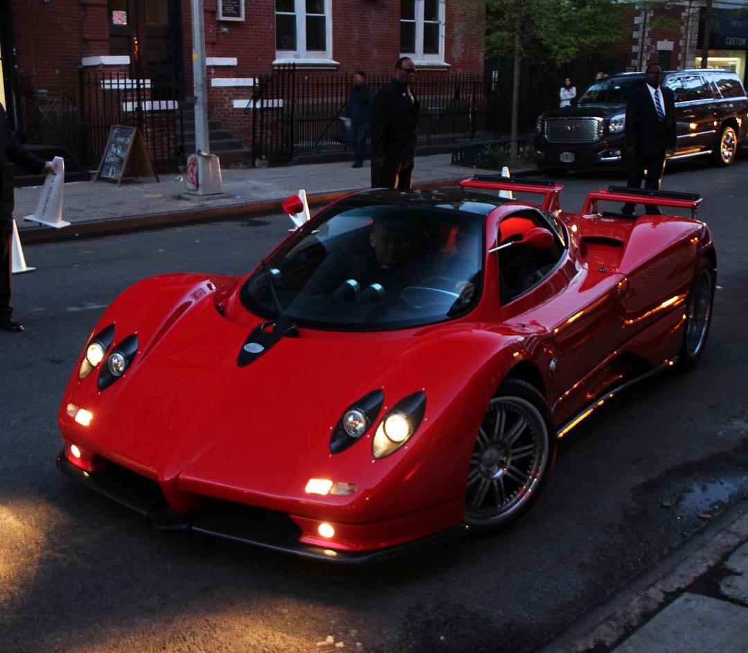 Prototype 0: Pagani Huayra BC Launch In New York