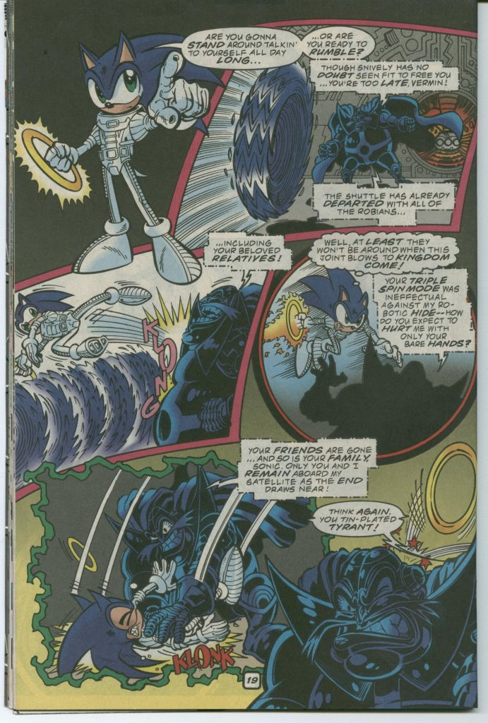 Read online Sonic The Hedgehog comic -  Issue #75 - 26