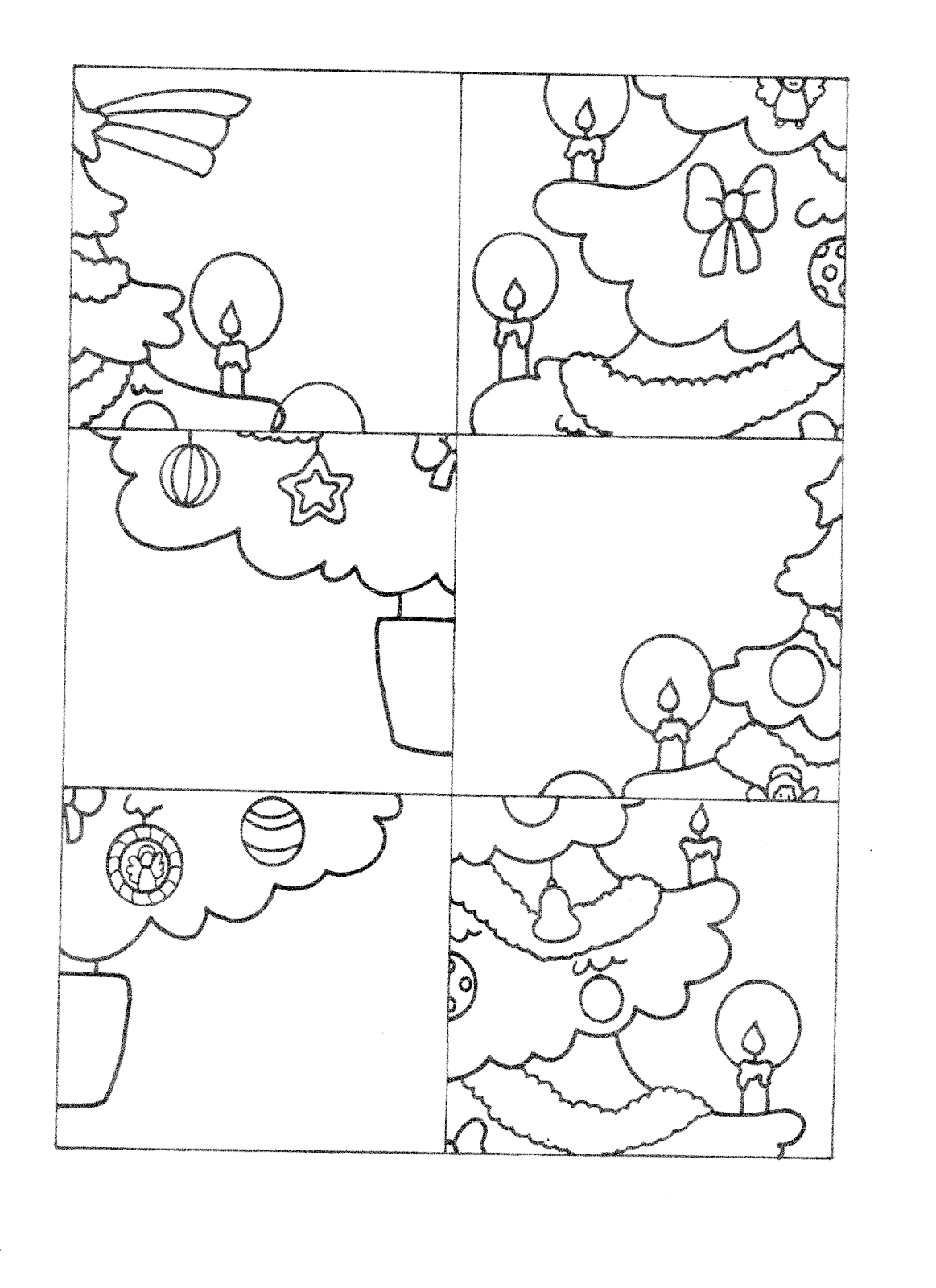 la maestra linda schede natale da colorare l 39 albero