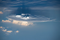 Cumulonimbus Cloud seen from the International Space Station