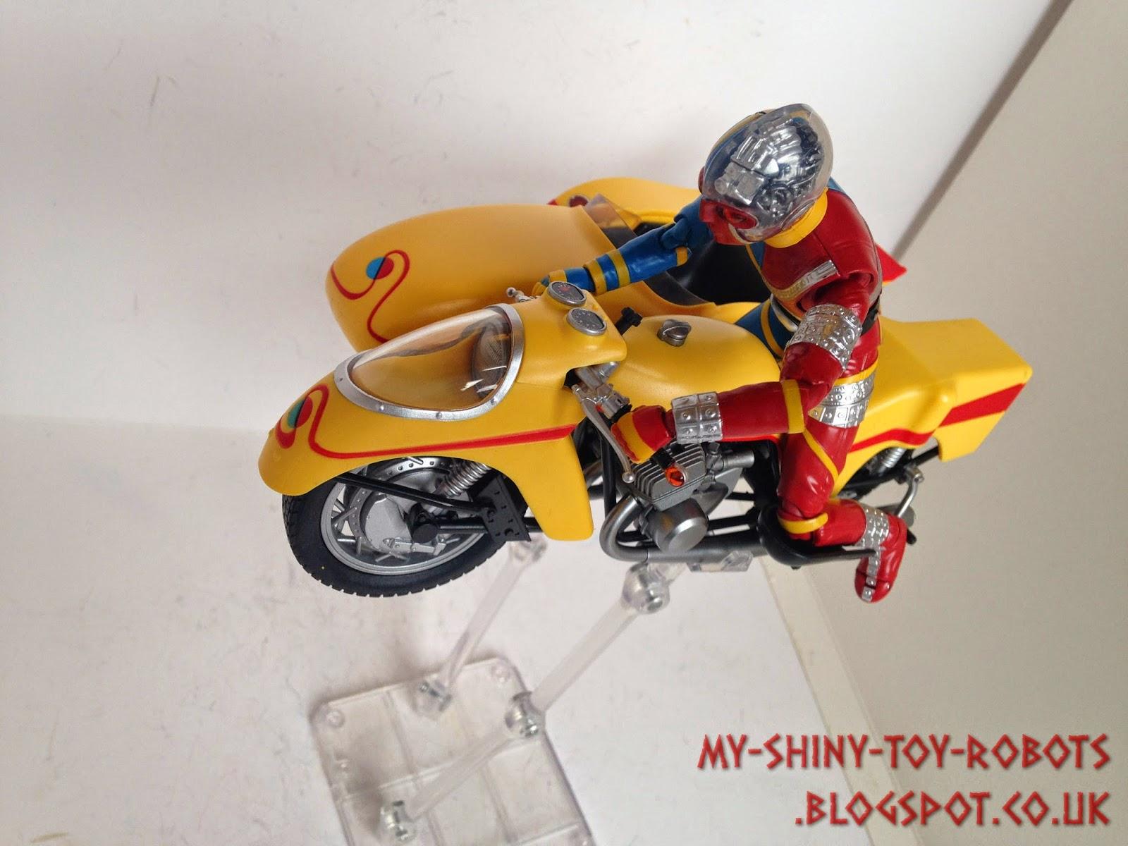 """Making the bike """"fly"""""""