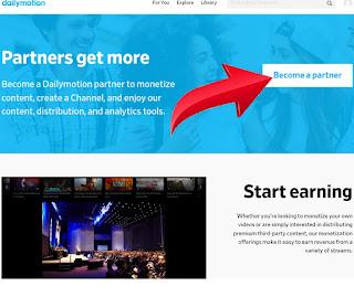 यूट्यूब छोड़ो और Dailymotion पर वीडियो डालकर रुपये कमाओ।