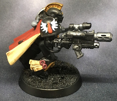 Deathwatch Watch Captain with Jump Pack WIP right side