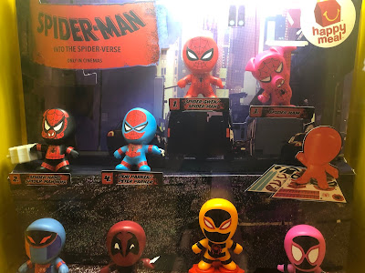 Spiderman Collaborates With McDonald - Promotional Toys