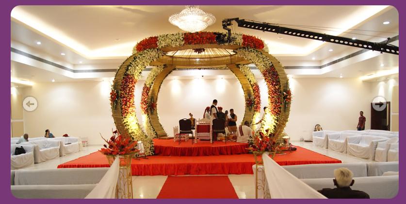 A Wedding Planner Indian Wedding Hall Shaadi Mandap