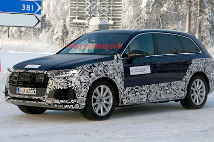 2020 Audi Q7 spy photographs uncover a facelift is coming