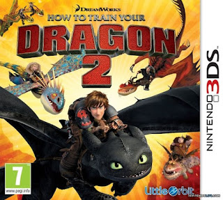 How To Train Your Dragon 2, 3ds, Español