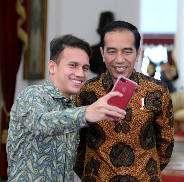 Jokowi Bangga Egy Maulana Berkarir di Polandia
