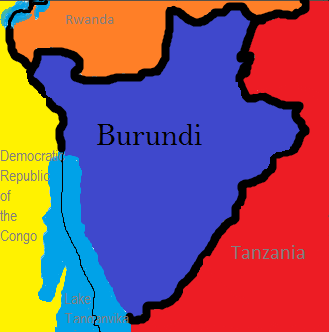 The ethnic groups in Burundi are Hutu 85%, Tutsi 14%, and Twa and other 1%.