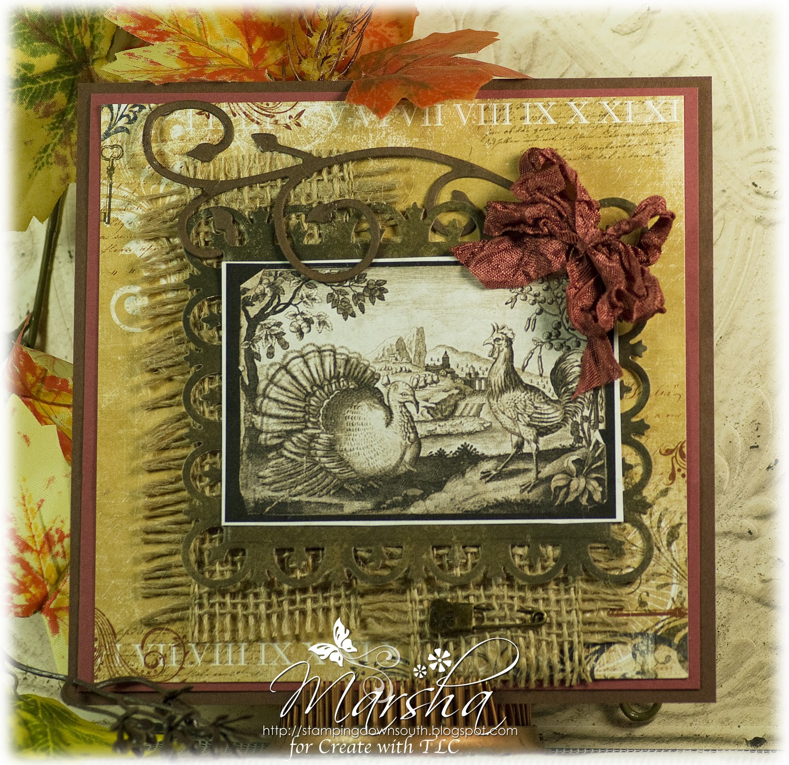 Stamping Down South: Vintage Thanksgiving Engraved