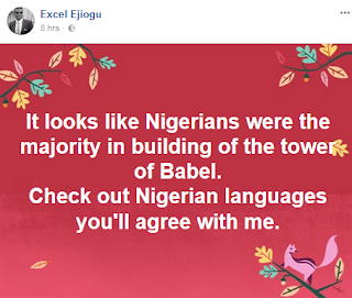 Lolz! It Looks Like Nigerians Were The Majority In Building Of The Tower Of Babel