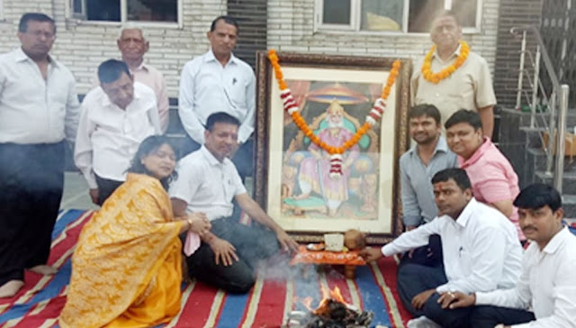 Maharaja Agarsen Jayanti celebration started in Ballabhgarh Chawla Colony