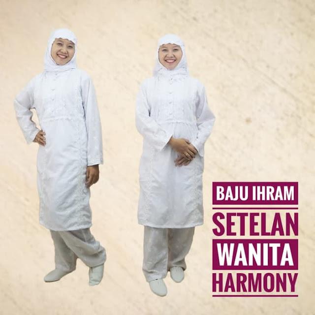 Baju Ihrom Stelan Wanita Harmony