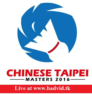 Chinese Taipei Masters 2016 live streaming and videos