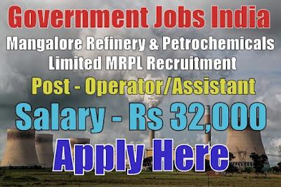 Mangalore Refinery & Petrochemicals Limited MRPL Recruitment 2017