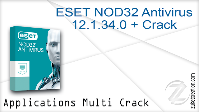 ESET NOD32 Antivirus 12.1.34.0  + Crack