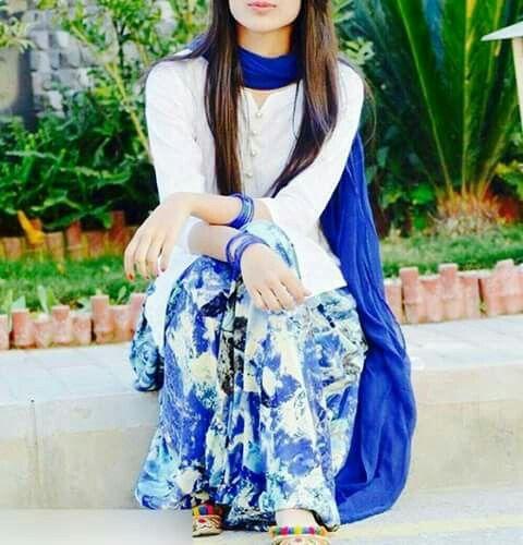 Beautiful Stylish Modern Ghair Salwar Suit Designs - Sari Info-7509