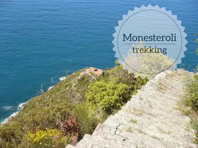 Monesteroli: trekking alle Cinque Terre. La scalinata monumentale