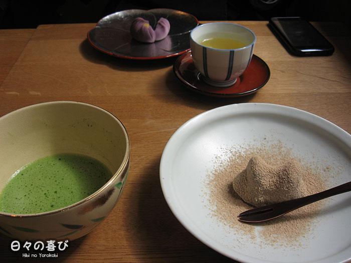 plongée patisseries walaku et thé matcha