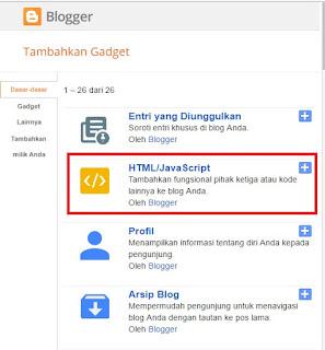 Cara Membuat Widget Pengikut Google Tanpa Gambar Followers Di Blog