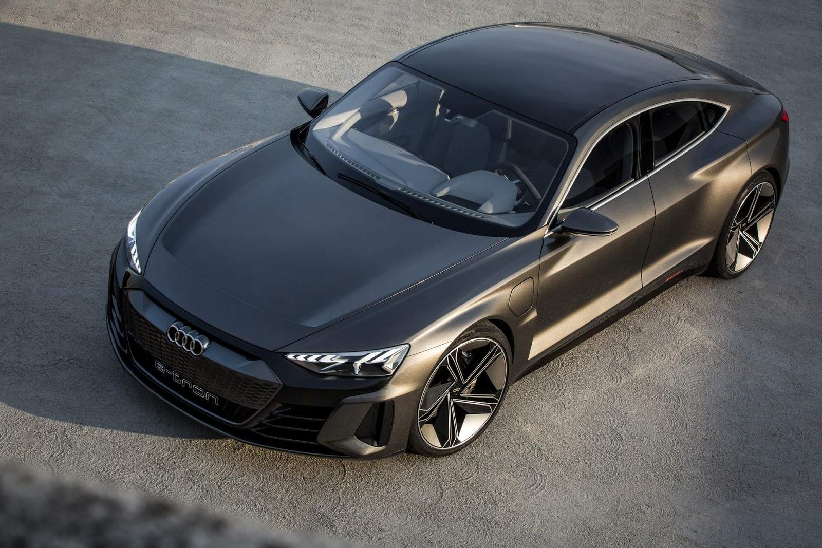 Audi e-Tron GT: conceito elétrico apresentado em LA | CAR ...