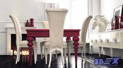 art deco style, art deco interior design, art deco dining room decor and furniture