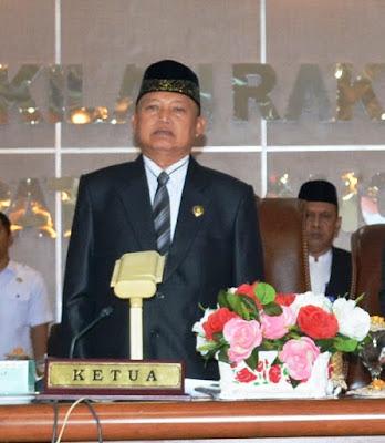 Suri Alam Resmi Ketua DPRD Langkat