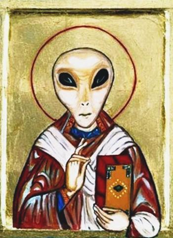 Conheça algumas religiões baseadas em alienígenas